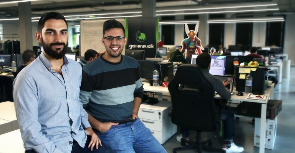 ALBERTO LAMAS E MANUEL ALEXANDRE RIVAS, CEOS DE GAMERSWALK