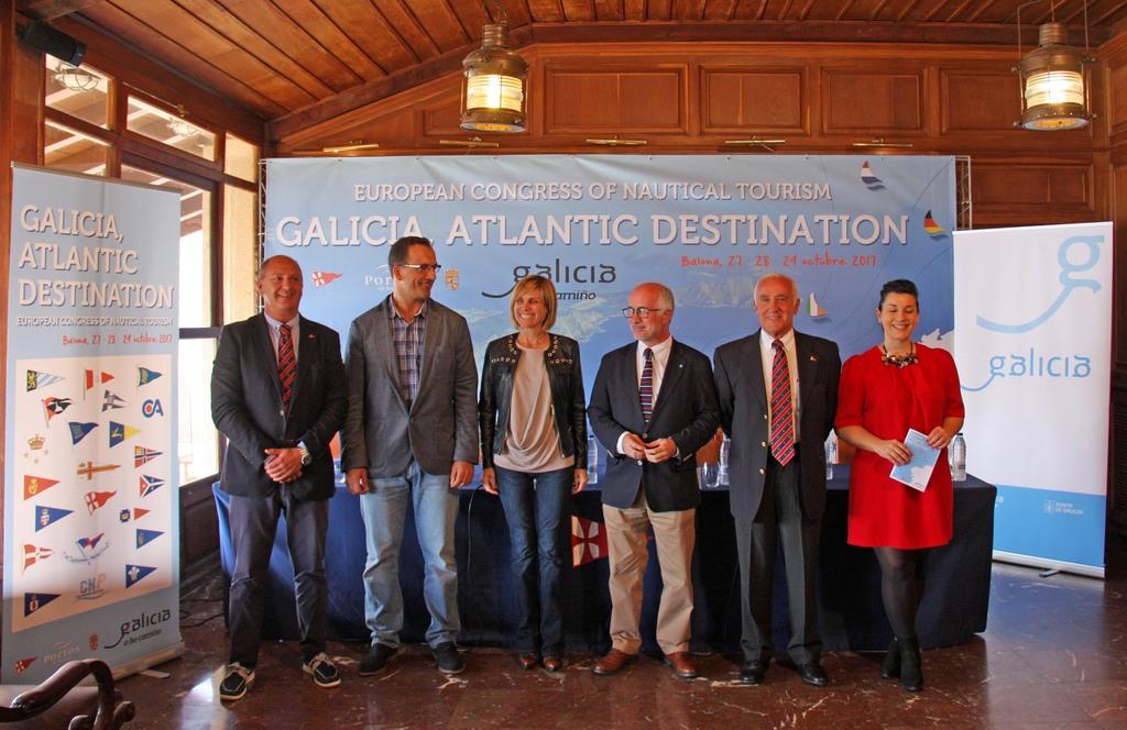 PRESENTACIÓN OFICIAL DO GALICIA ATLANTIC DESTINATION NO MONTE REAL CLUB DE YATES