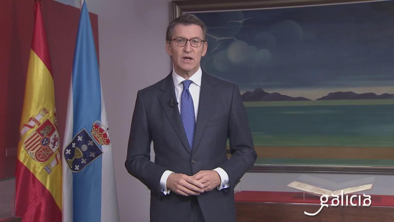 Mensaxe de fin de ano do presidente da Xunta de Galicia 2017 (BQ)