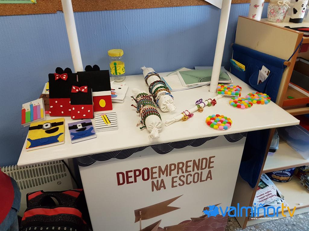 """VISITA Á COOPERATIVA """"ARTESÁNS&KIDS"""" DO CPI COVA TERREÑA"""