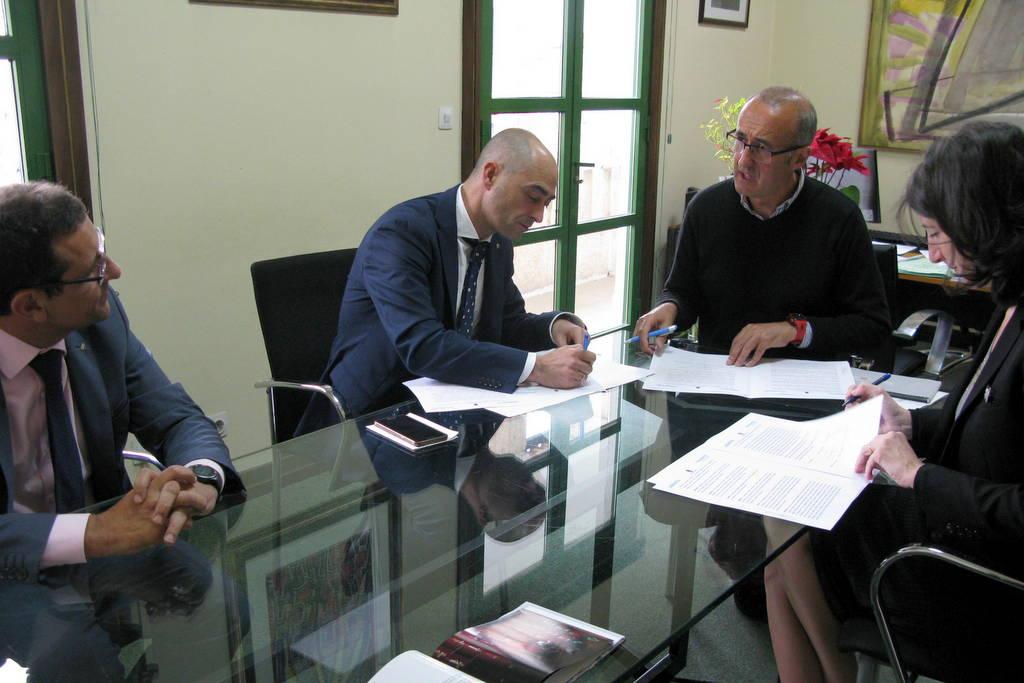 ABANCA E AFUNDACIÓN ASINAN UN CONVENIO DE COLABORACIÓN CULTURAL CO CONCELLO DE NIGRÁN