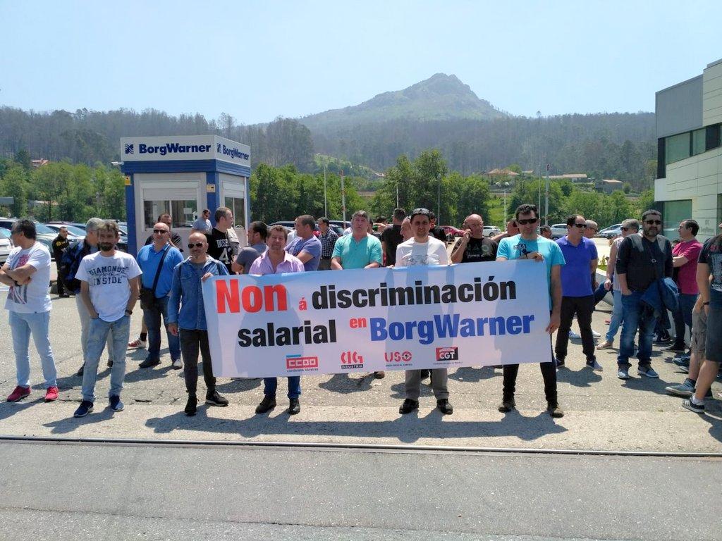 O CADRO DE PERSOAL DE BORGWARNER REBÉLASE CONTRA O PLAN DE INCENTIVOS IMPOSTO POLA DIRECCIÓN