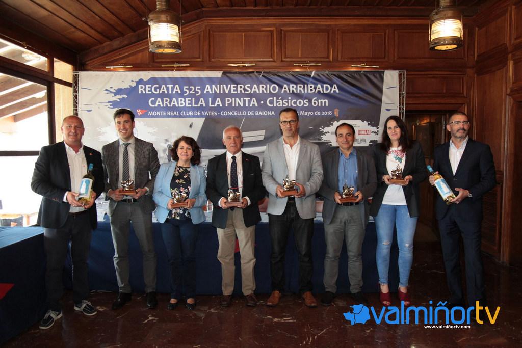 PRESENTACIÓN DA REGATA 525 ANIVERSARIO ARRIBADA CARABELA PINTA