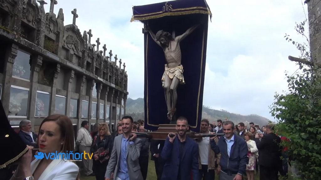 PROCESIÓN DO CRISTO DA VITORIA EN CHANDEBRITO