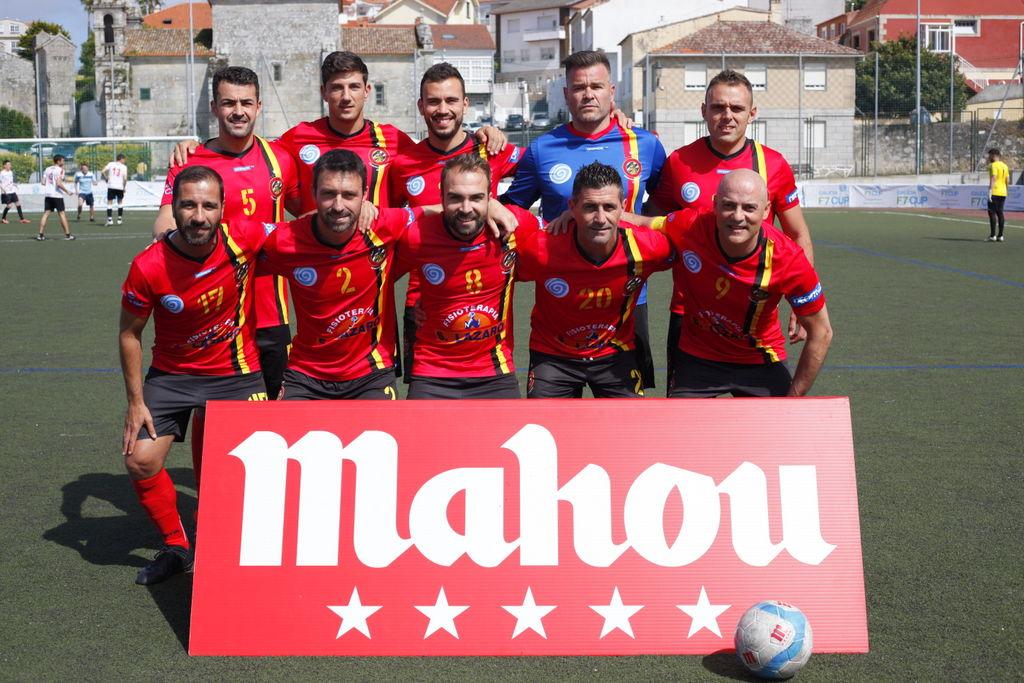 TELMO PELUQUEROS, CAMPIÓN EN BAIONA DA COPA MAHOU GALICIA F7 CUP 2018