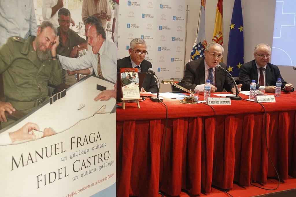 MANUEL FRAGA, UN GALLEGO CUBANO. FIDEL CASTRO, UN CUBANO GALLEGO
