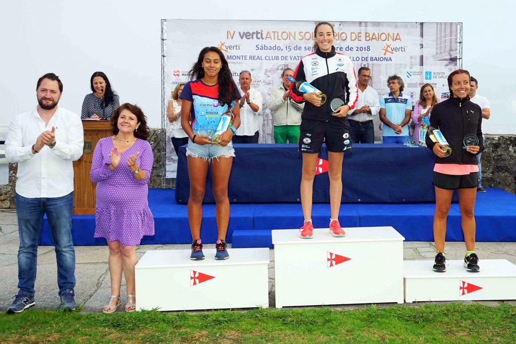2018-09-15 – Ganadoras absolutas femeninas – Foto © Manuel Parada