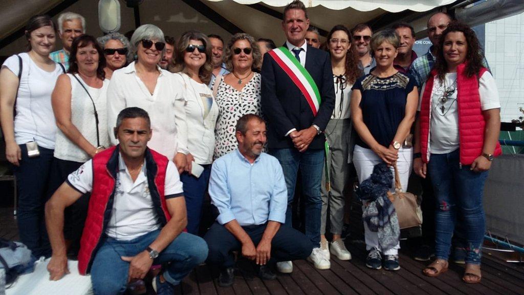 REPRESENTANTES DOS GALP DA PROVINCIA, DE INTERCAMBIO EN ITALIA