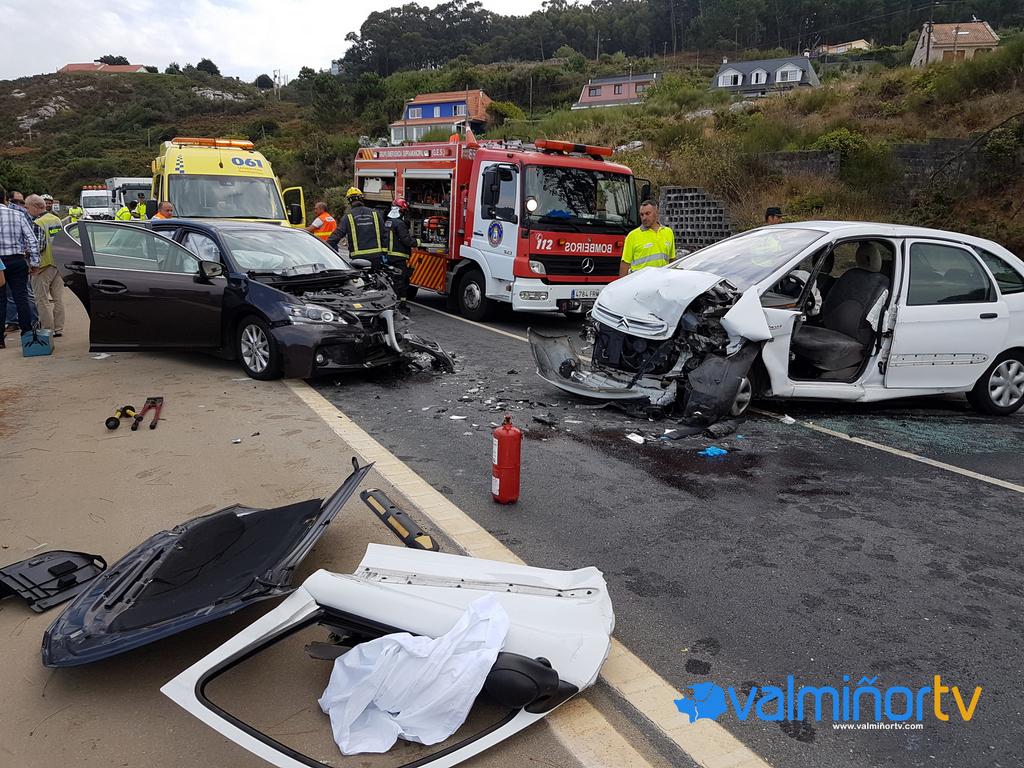 ACCIDENTE EN LA PO-552 EN BAREDO