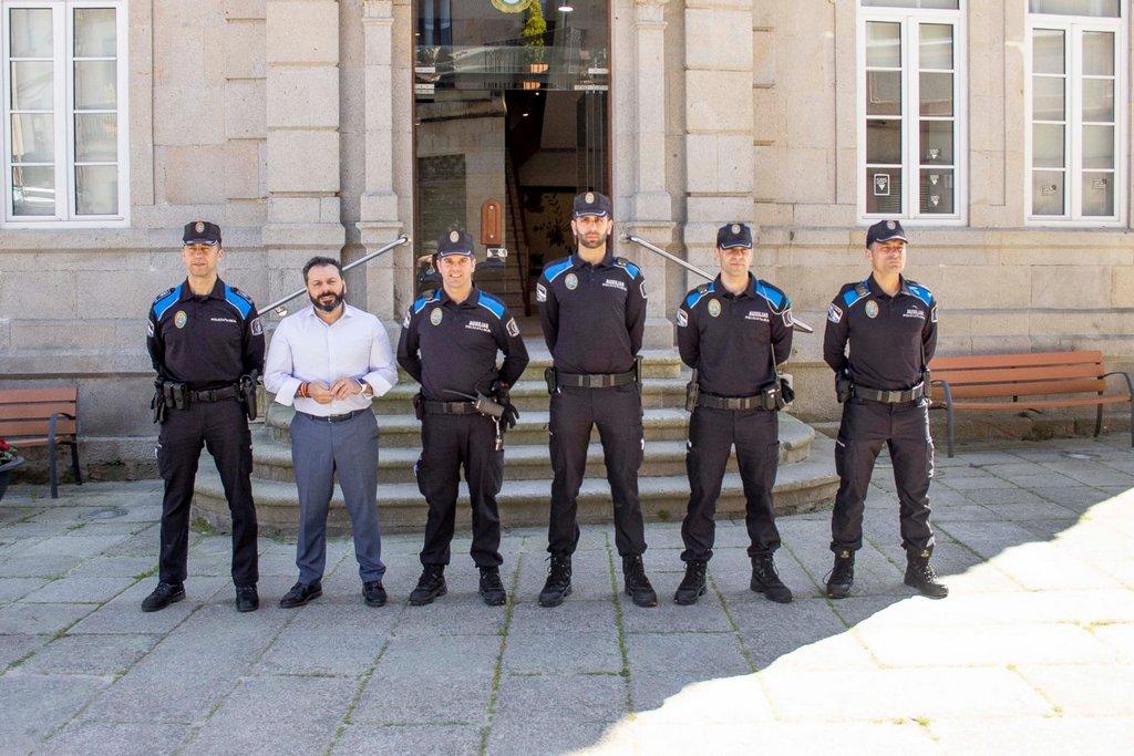 GONDOMAR REFORZA A POLICÍA LOCAL CON CATRO AUXILIARES