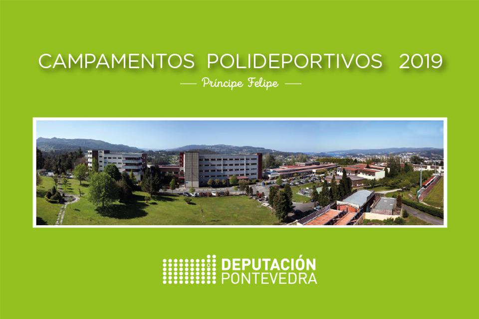 A DEPUTACIÓN ABRE O PRAZO DE INSCRICIÓN PARA PARTICIPAR NOS CAMPAMENTOS POLIDEPORTIVOS