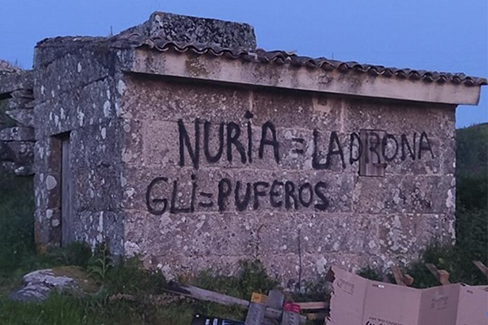 CHANDEBRITO 1807 DENUNCIA UNHAS PINTADAS NO MUÍÑO DAS CHANS DOS CRUCEIROS