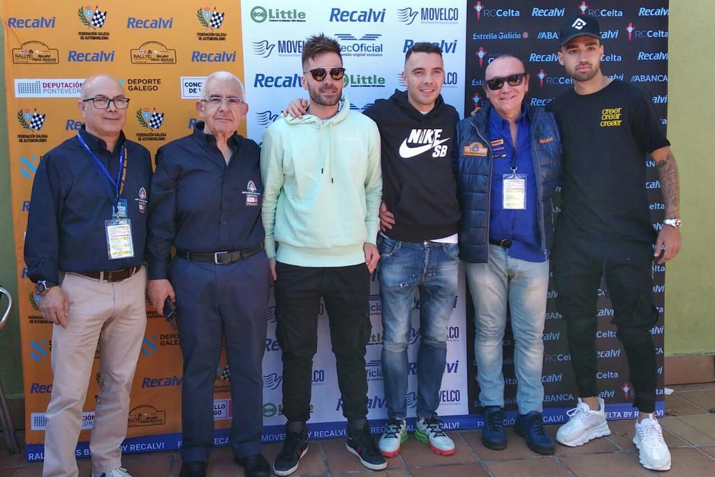 2019-05-17 – Cohete Suarez, Iago Aspas y Brais Méndez