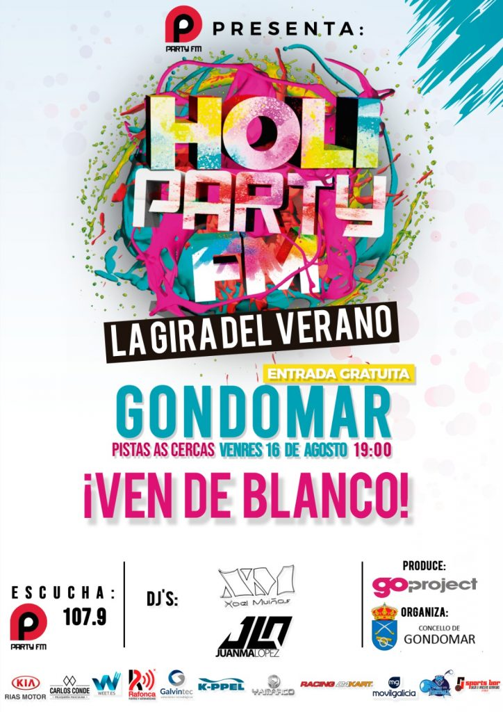 HOLI PARTY FM GONDOMAR