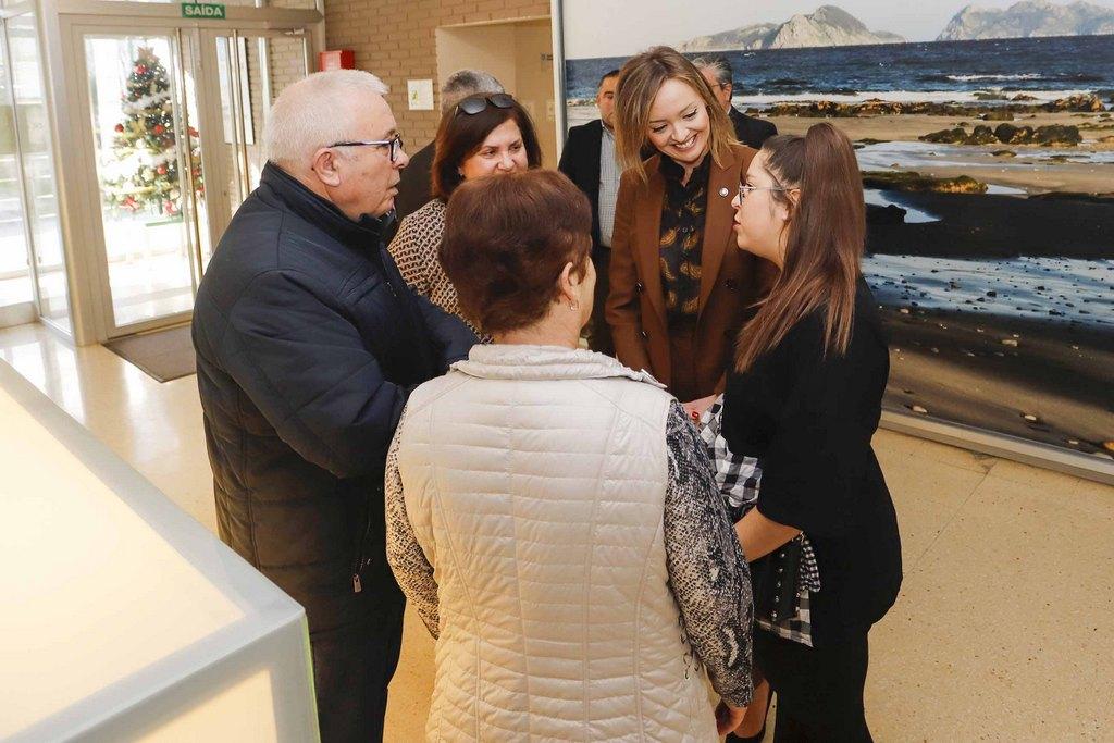 130 PERSOAS MAIORES PARTICIPAN NA RESIDENCIA DE PANXÓN NO PROGRAMA XUNTOS POLO NADAL