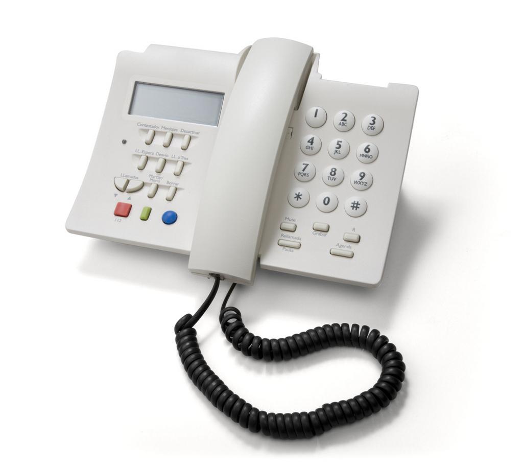 Teléfono IP con teclado español