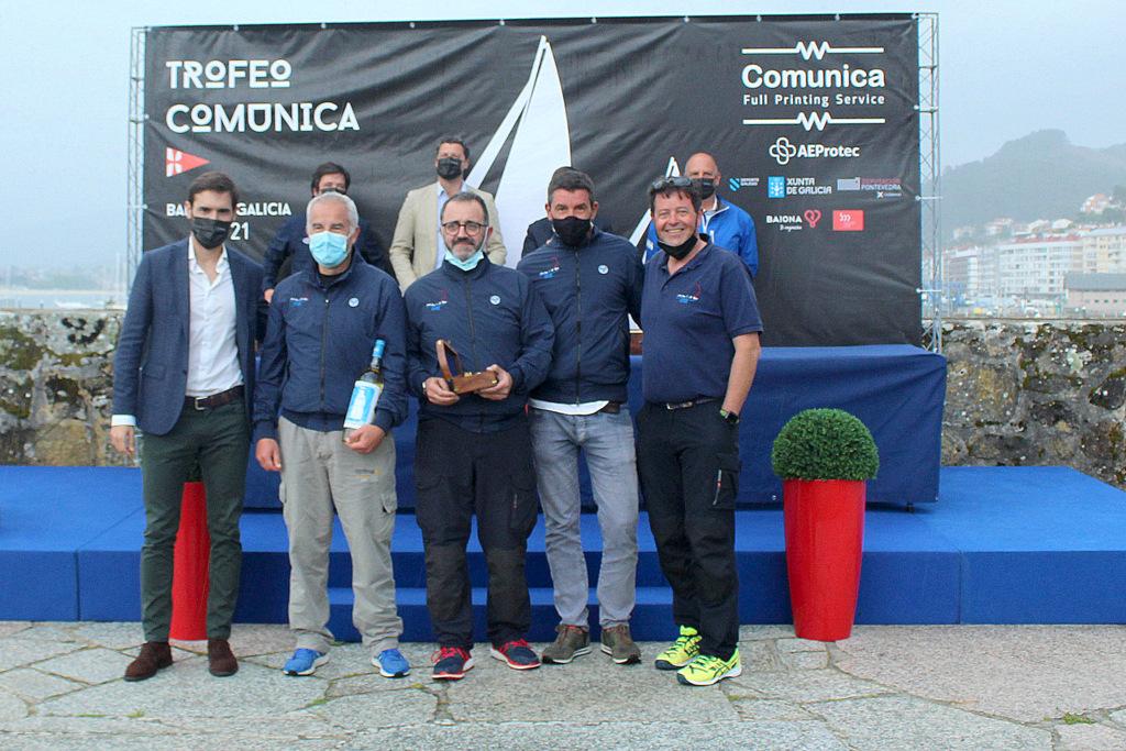07-El Maija vencedor en la clase J80 – Foto Leticia Acero