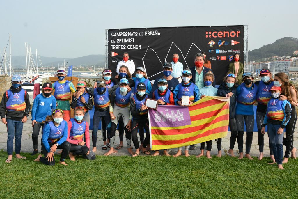 10-Federación Balear ganadora del Campeonato de España por autonomímas – Foto © José Ramón Louro