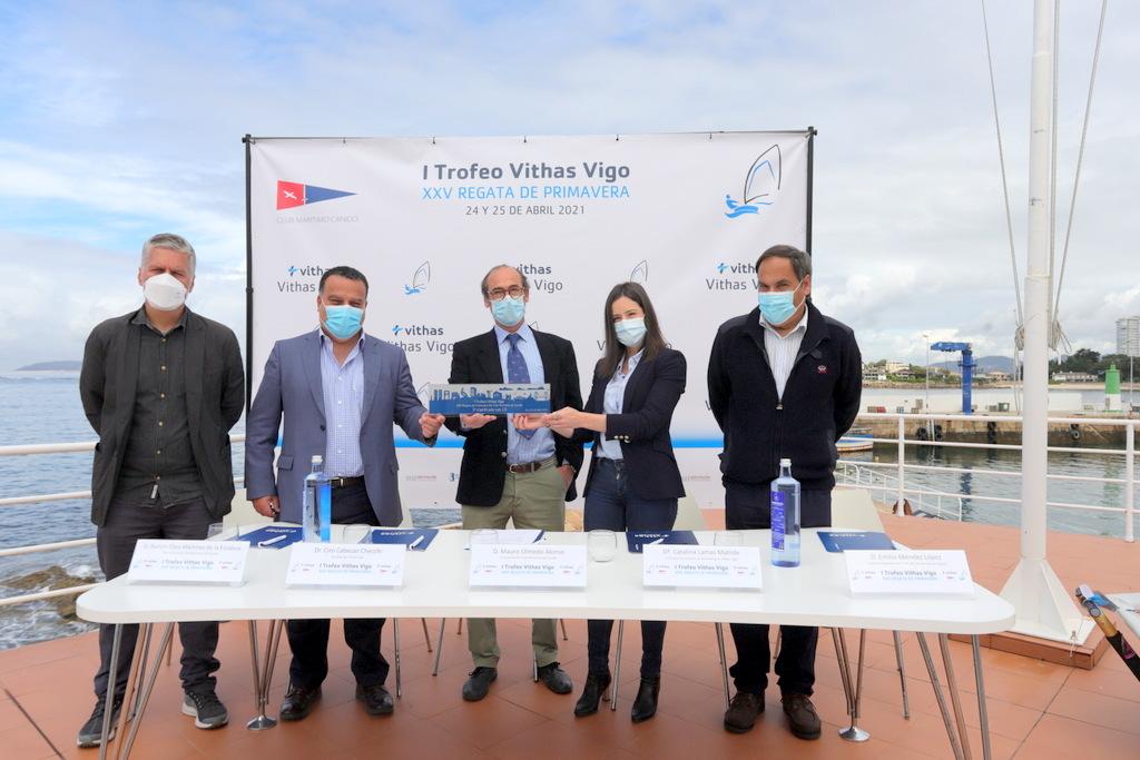 2021-04-20 – Presentación I Trofeo Vithas Vigo de Vela