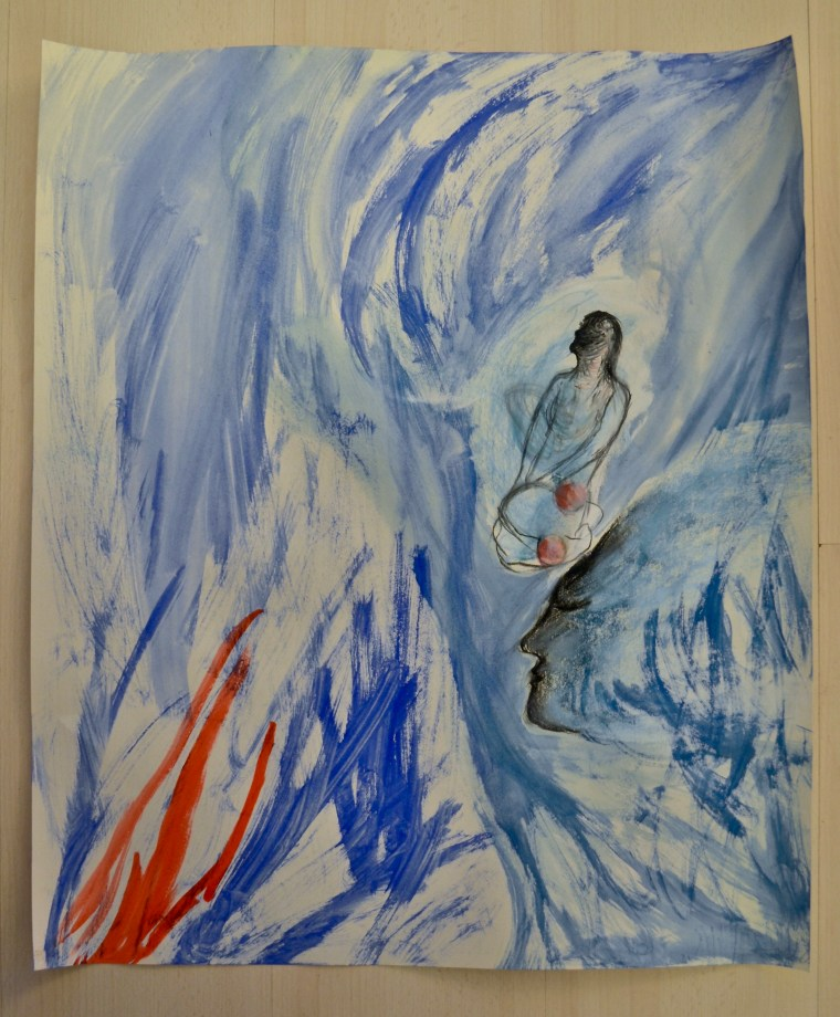 Akvarelli ja pastelli II