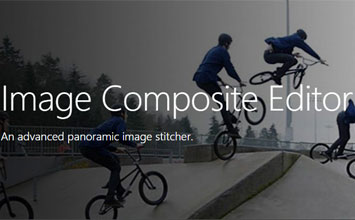 Image Composite Editor for panoramas