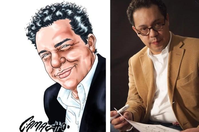 Caricaturista Daniel Camacho