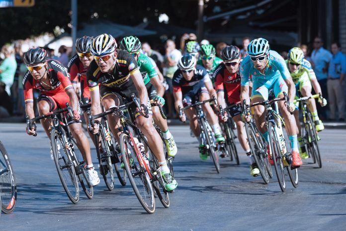 Ciclistas de competencia