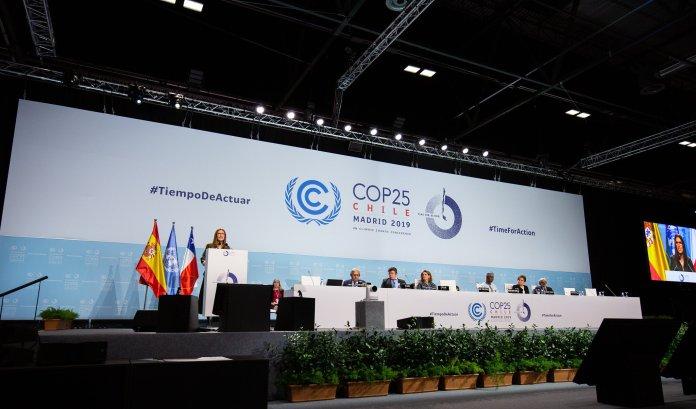 COP 25 Mesa directiva