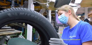 Michelin sigue donando durante la pandemia