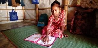 El coronavirus no puede robar el derecho a la educación de los refugiados