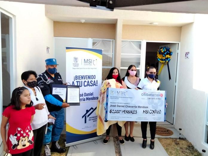GMSI entrega casas a sus colaboradores