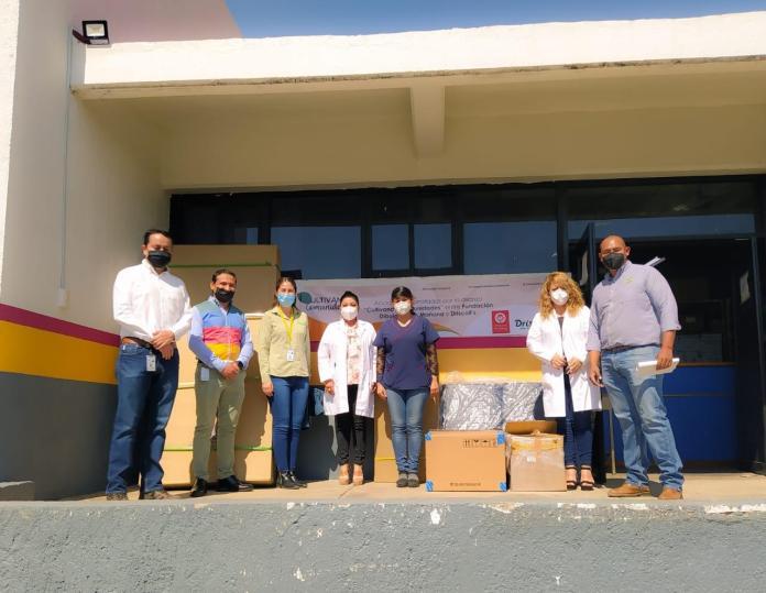 donativo equipos médicos