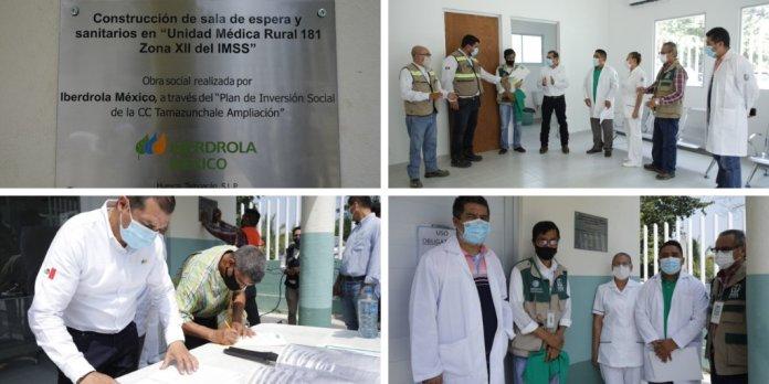 Iberdrola México entrega clínica rural en San Luis Potosí