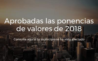 Ponencias de valores de 2018