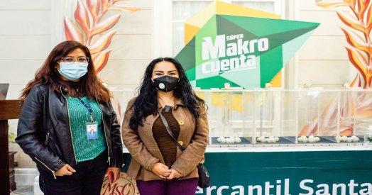 Banco Mercantil Santa Cruz regala dinero con su campaña La Makro Sigue.
