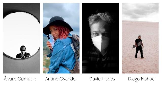 Algunos fotógrafos bolivianos profesionales, en los últimos años, se han inclinado por la fotografía con smartphones.