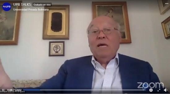 Universidad Privada Boliviana acogió charla especial de Enrique García