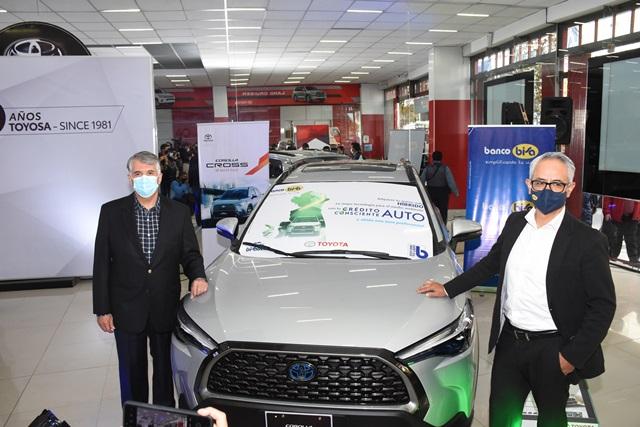 Créditos para vehículos híbridos y eléctricos, BISA y Toyosa apuestan por un futuro sostenible.