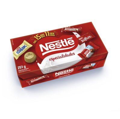 Nestlé tuvo propuesta ecológica para el Día de la Madre, con caja que sirvió para armar un ramo y allí colocar chocolates.