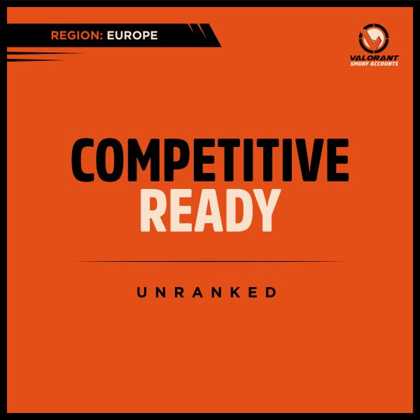 Valorant Competitive ready Account
