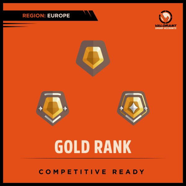 Valorant Gold Rank Account