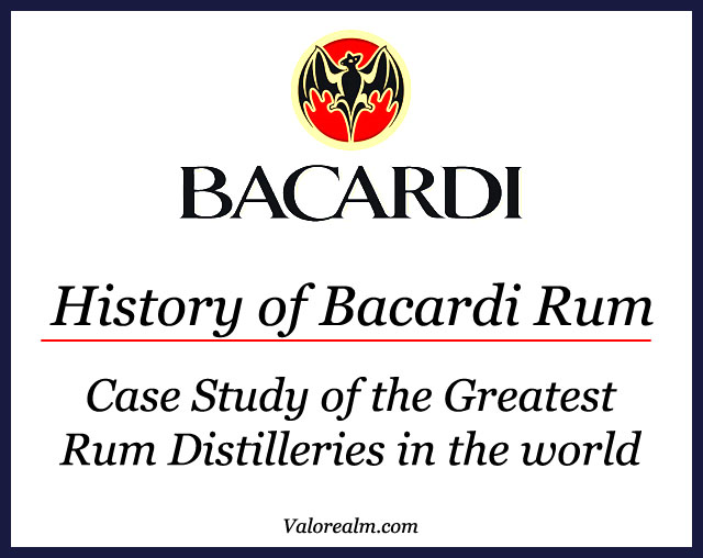 Bacardi, Bacardi Rum, Facundo Bacardi, Bacardi Rum, History of Bacardi