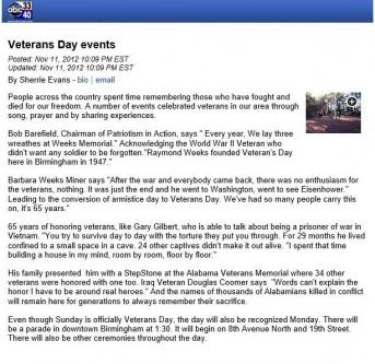 Gary Wayne Gilbert interview