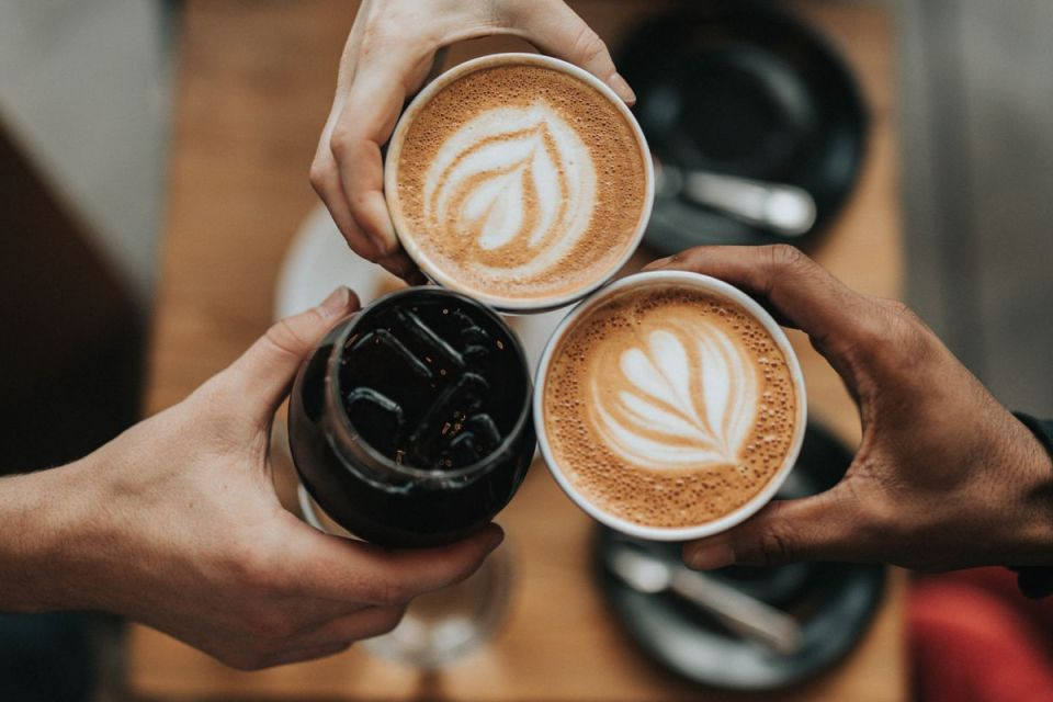 Bureau café en équipe