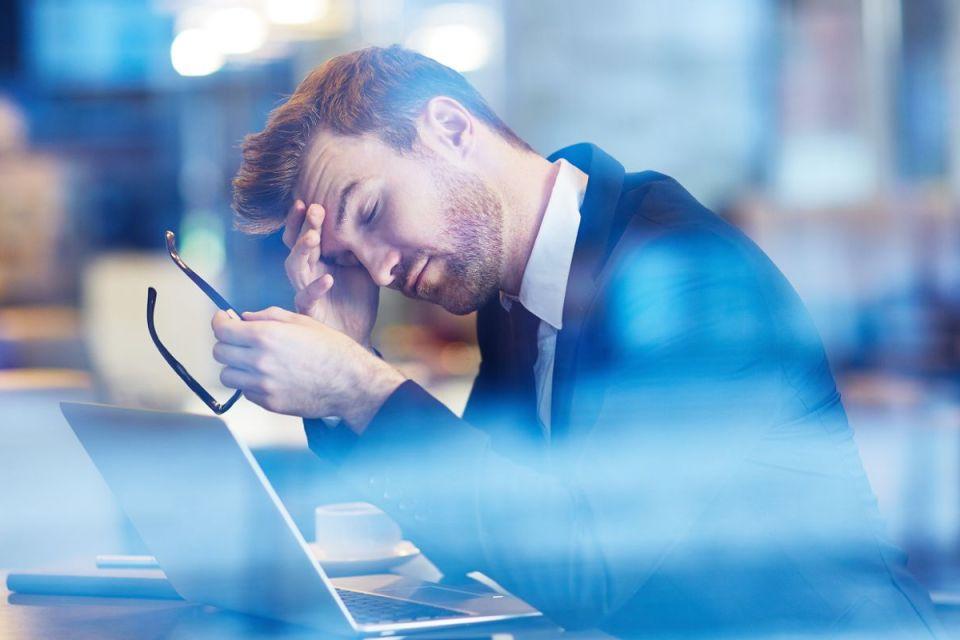 Employé fatigué et manquant de motivation