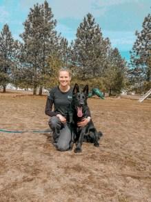 jenna larson dog trainer german shepherd