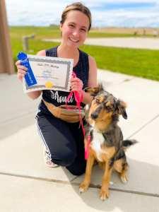 valor k9 academy dog training client