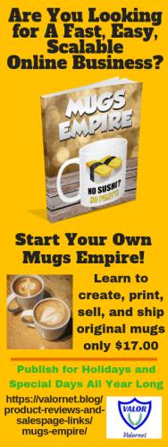 Mugs Empire banner