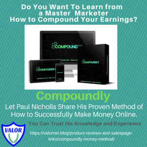 Compoundly Money Method by Paul Nicholls, banner