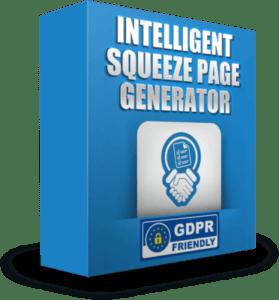 Intellegent Squeeze Page Generator box